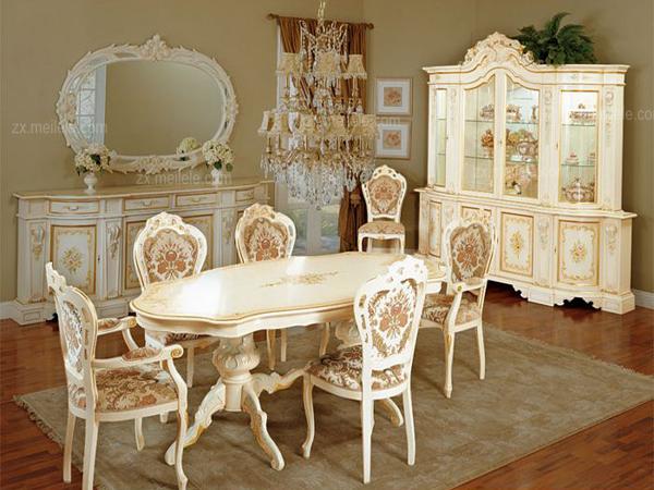 家具风格介绍:巴洛克家具