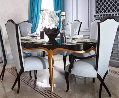 蓬巴杜——杭州玫瑰园餐厅家具