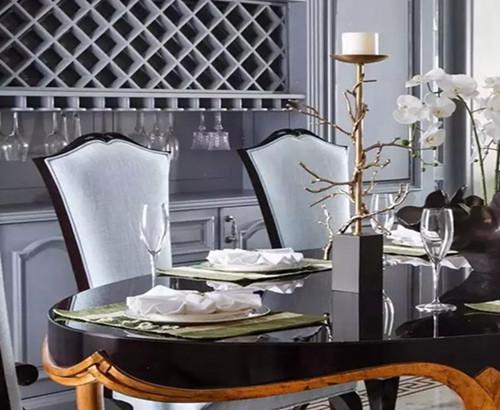 蓬巴杜-——杭州玫瑰园餐厅家具