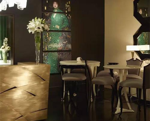 蓬巴杜——杭州东方润园餐厅家具