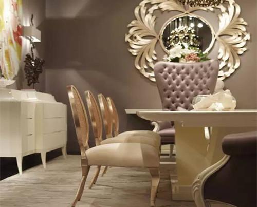蓬巴杜——杭州绿城丽园餐厅家具