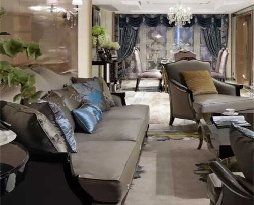 蓬巴杜CG家具系列——云栖玫瑰园客厅家具