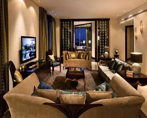 蓬巴杜CG家具系列——华润悦府客厅家具