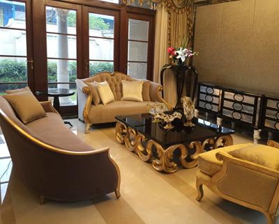无锡绿城香樟园-客厅家具1