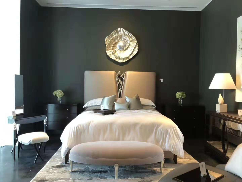 蓬巴杜CG家具女孩房卧室家具案例