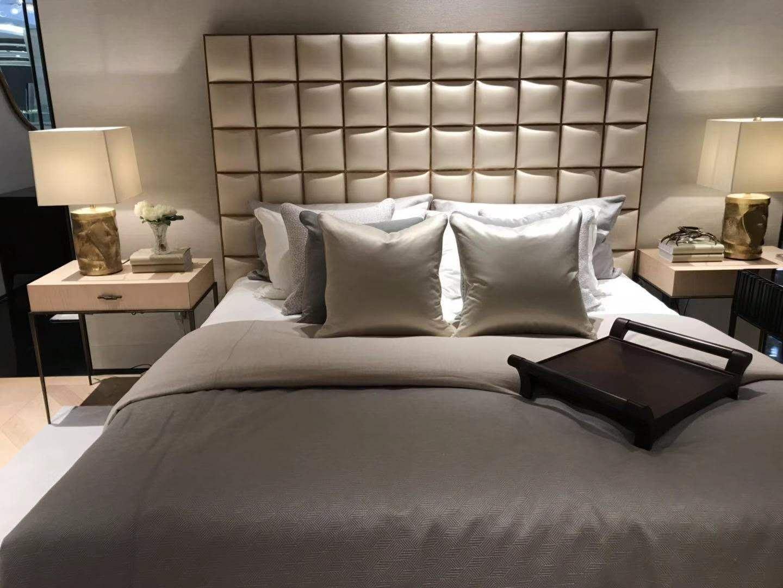 蓬巴杜CG家具卧室家具案例-中海御道主卧室