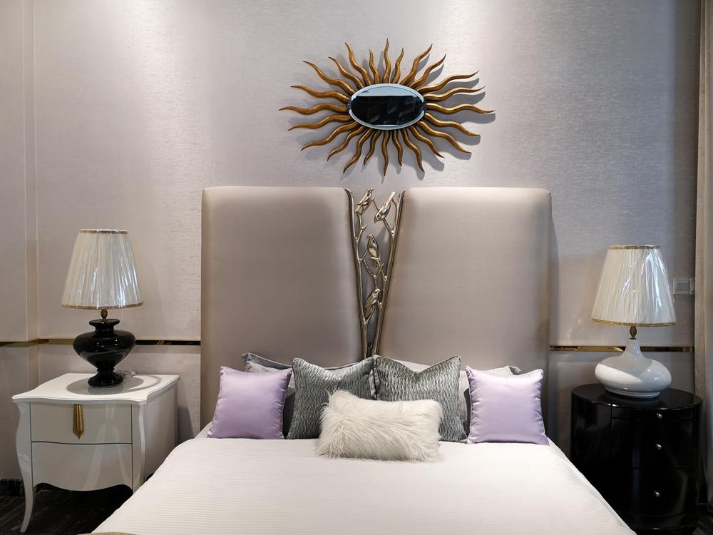 蓬巴杜CG家具卧室时尚床