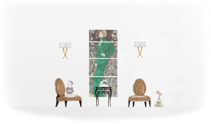 46-0264蓬巴杜cg家具欧式家具装饰品|摆件|蓬巴杜
