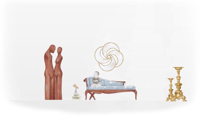 46-0277蓬巴杜cg家具欧式家具装饰品|摆件|蓬巴杜
