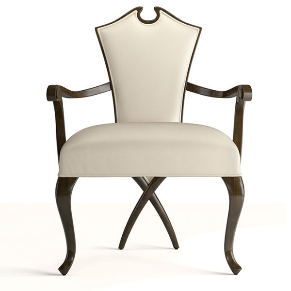 30-0027蓬巴杜新古典后现代家具餐椅