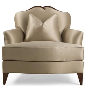 60-0473 蓬巴杜家具CG家具单人沙发