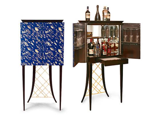 88-0003蓬巴杜CG家具欧式家具实木酒柜