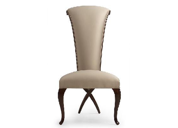 30-0008蓬巴杜新古典后现代家具无扶手餐椅