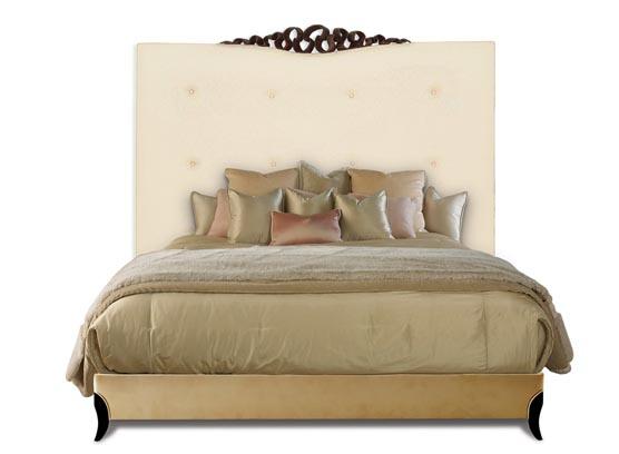 20-0505蓬巴杜新古典后现代家具实木床