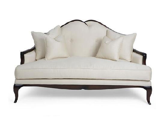 60-0129蓬巴杜别墅家具CG家具双人沙发