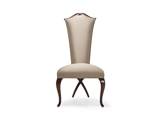 30-0047蓬巴杜新古典后现代家具无扶手餐椅