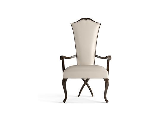 30-0040蓬巴杜新古典后现代家具主人椅