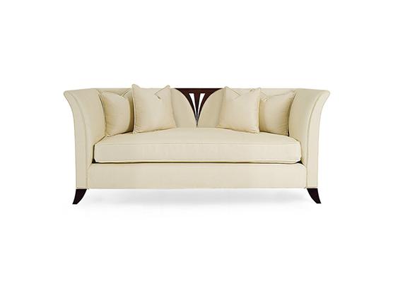 60-0150蓬巴杜别墅家具双人沙发