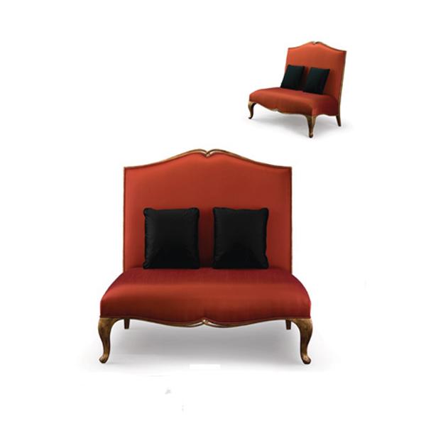 60-0003蓬巴杜新古典后现代家具休闲沙发