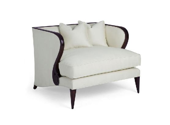 60-0041蓬巴杜CG家具别墅家具单人沙发