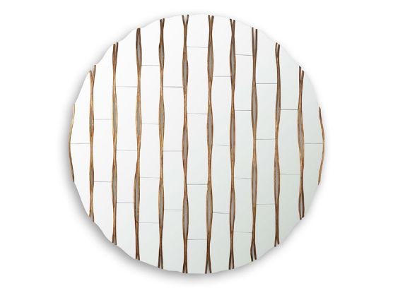 50-2726蓬巴杜新古典CG家具后现代家具装饰镜