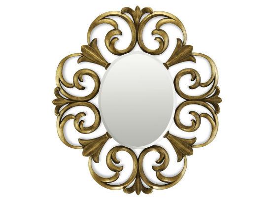 50-2854蓬巴杜CG家具别墅家具装饰镜