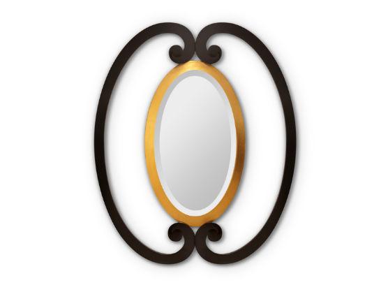 50-2964蓬巴杜酒店家具装饰镜