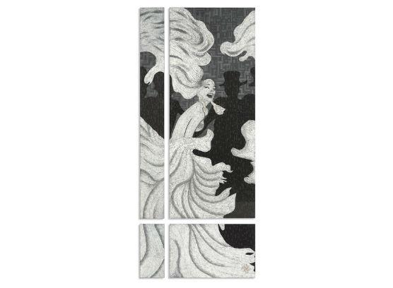 46-0362蓬巴杜高档家具画