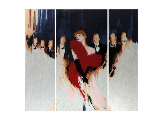 46-0370蓬巴杜高档家具画