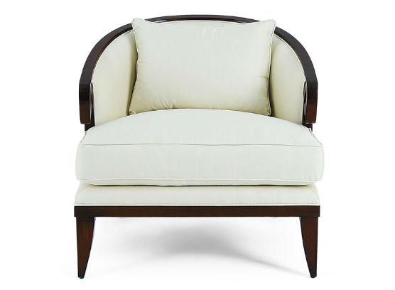 60-0039蓬巴杜高档家具CG家具单人沙发
