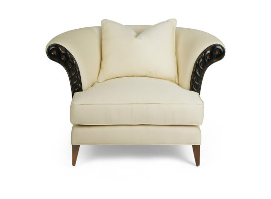 60-0044蓬巴杜高端定制家具单人沙发