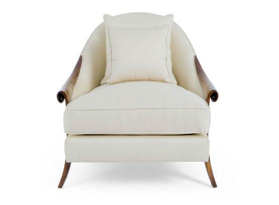60-0077蓬巴杜CG家具高档家具单人沙发