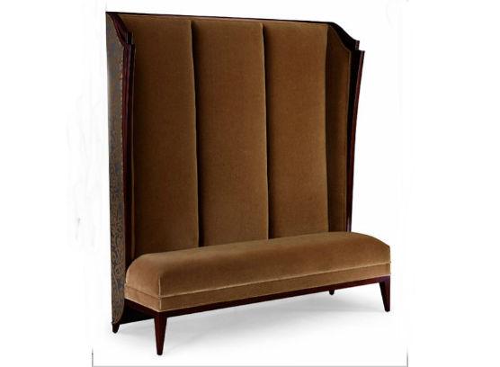 60-0220蓬巴杜别墅家具双人沙发