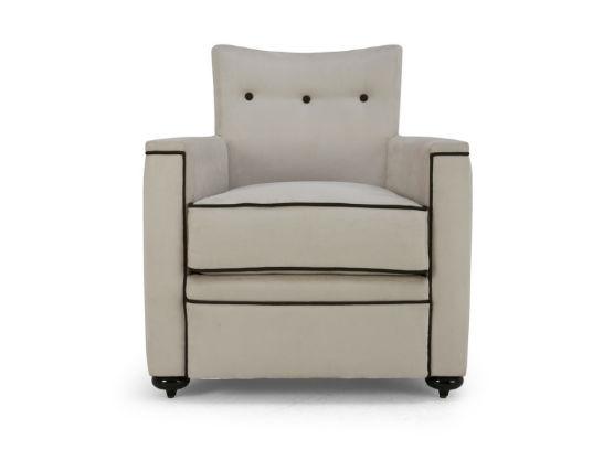 60-0294蓬巴杜别墅家具CG家具单人沙发