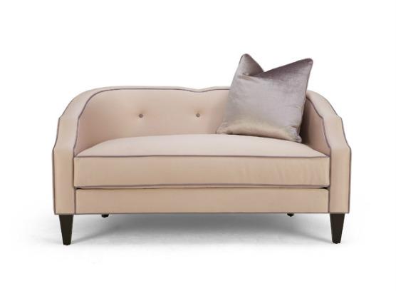 60-0301蓬巴杜别墅家具双人沙发