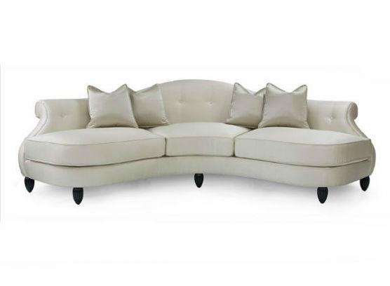 60-0325蓬巴杜高端定制家具三人沙发