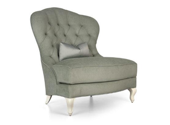 60-0350蓬巴杜高端定制家具单人沙发