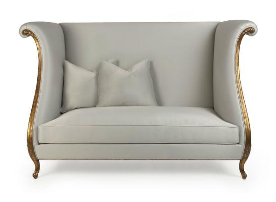 60-0361蓬巴杜别墅家具双人沙发