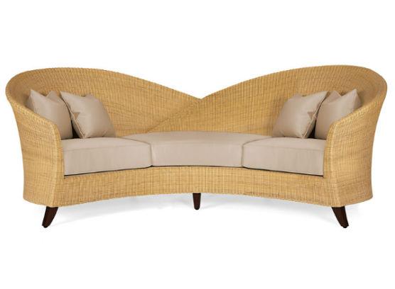 60-0374蓬巴杜高档家具三人沙发