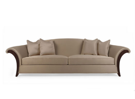 60-0378蓬巴杜高档家具CG家具双人沙发