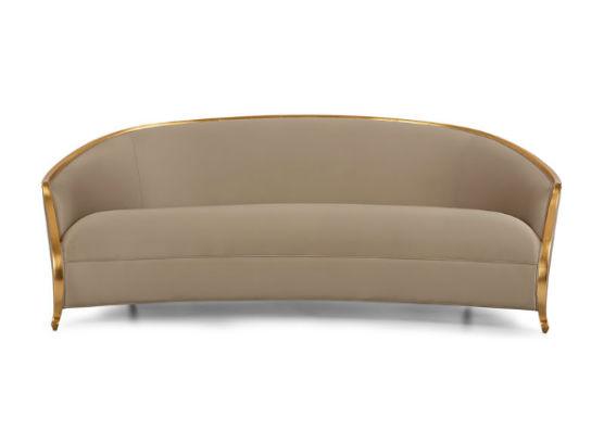 60-0387蓬巴杜别墅家具三人沙发