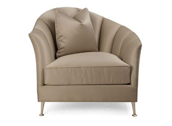 60-0389蓬巴杜别墅家具CG家具单人沙发