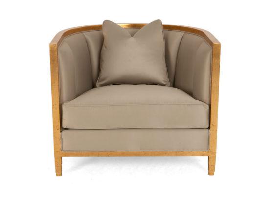 60-0393蓬巴杜别墅家具CG家具单人沙发