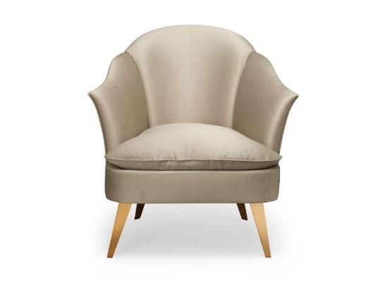 60-0402蓬巴杜别墅家具CG家具单人沙发