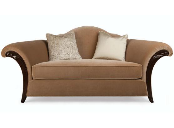 60-0406蓬巴杜高端别墅家具双人沙发