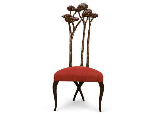 30-0087蓬巴杜新古典后现代家具灵芝餐椅