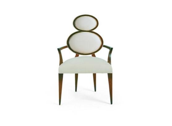 30-0041蓬巴杜欧式家具CG家具餐椅