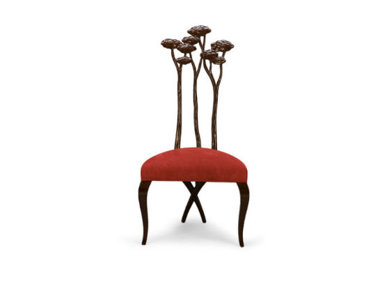 30-0085蓬巴杜新古典后现代家具灵芝餐椅