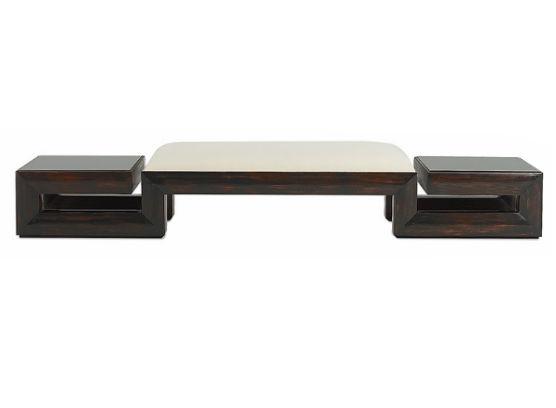 60-0013蓬巴杜酒店家具CG家具床尾凳