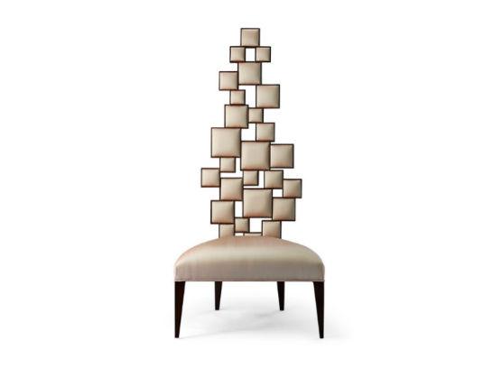 60-0223蓬巴杜别墅家具CG家具休闲椅